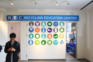 Recycling graphcis for the education center